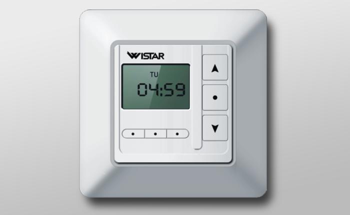 horloge programmable permet d adapter la consommation d nergie en pictures to pin on pinterest. Black Bedroom Furniture Sets. Home Design Ideas
