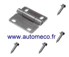 Kit r paration charniere porte sectionnelle autom co for Reparation moteur porte de garage
