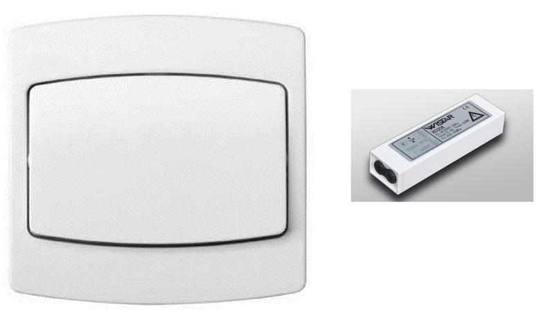 bouton poussoir r cepteur radio pour transformation de. Black Bedroom Furniture Sets. Home Design Ideas