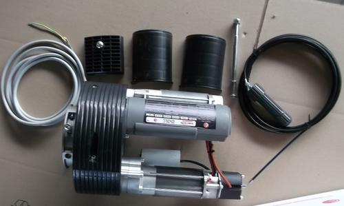 DOUBLE MOTEUR CENTRAL 240 mm POUR RIDEAU METALLIQUE 320 Kg