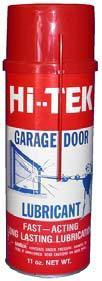 Bombe de lubrifiant ressort et accessoires autom co automatismes pour la maison - Lubrifiant pour porte de garage ...